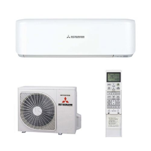Mitsubishi Heavy Industries Air Conditioning SRK25ZS Wall 2.5Kw/9000Btu A++ R32 Install Pack